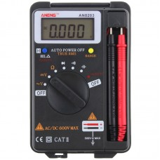 ANENG AN8203 4000 Counts True RMS Mini Digital Multimeter Voltage Resistance Frequency Capacitance Tester