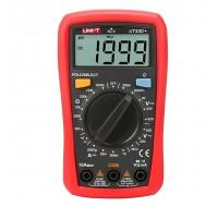 UNI-T UT33D+ Digital NVC Multimeter Voltage Current Resistance Tester Buzzer LCD Backlight