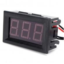 12V Red Digital Display Thermometer LED Waterproof Temperature Sensor Test Meter