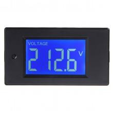 Multifunctional AC LCD Digital Voltage Current Tester KWh Watt Panel Battery Meter Gauge