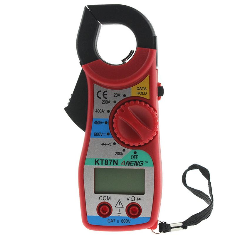 ANENG KT87N Digital Multimeter Clamp Meter Current Clamp Pincers AC/DC Current Voltage Tester