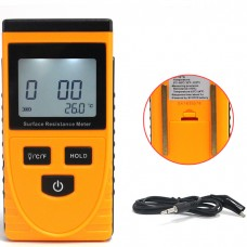 GM3110 Portable LCD Surface Resistance Meter Earth Resistance Meter with Data Holding Function