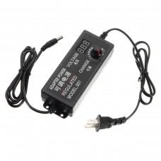 Excellway 9-24V 3A 72W AC/DC Adapter Switching Power Supply Regulated Power Adapter Supply Display