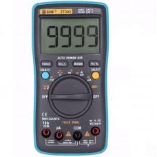 BSIDE ZT302 Digital Multimeter True RMS 9999 Counts LED Backlight AC DC Voltage Current Resistance Capacitance Frequency Tester Square Wave Output
