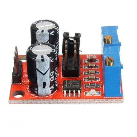 20pcs NE555 Pulse Frequency Duty Cycle Adjustable Module Square Wave Signal Generator Stepper Motor Driver