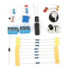 3Pcs DC12 DIY ICL8038 Function Signal Generator Kit Sine Triangle Square Wave Signal