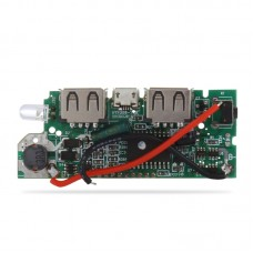 Dual USB Mobile Power Bank DIY Battery Charger PCB Board Boost Step Up Module
