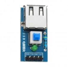 LDTR – B0005 USB Power Converter Module for Arduino Lovers – Blue