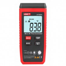 UNI-T UT306A Mini LCD -35~300 Infrared Thermometer Red Laser Temperature Meter /