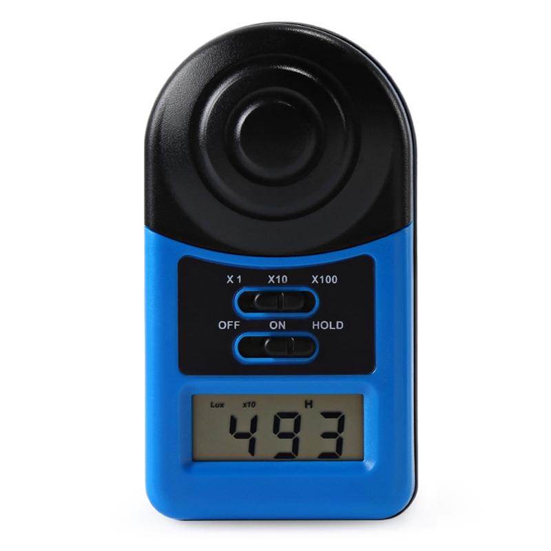 WHDZ LX1010A Digital 200,000 Lux Meter Illuminometer Photometer Luxmeter Light Meter  Mini Pocket Size