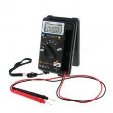 4000 Counts True RMS Mini Digital Multimeter Voltage Resistance Frequency
