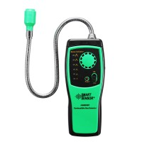 Natural Gas Methane Propane Leak Detector Tester 2 Alarm Sensor Home Security