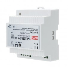 NVVV DR-30-24 AC to DC DIN-Rail Power Supply 30W Industry Switching Power Supply