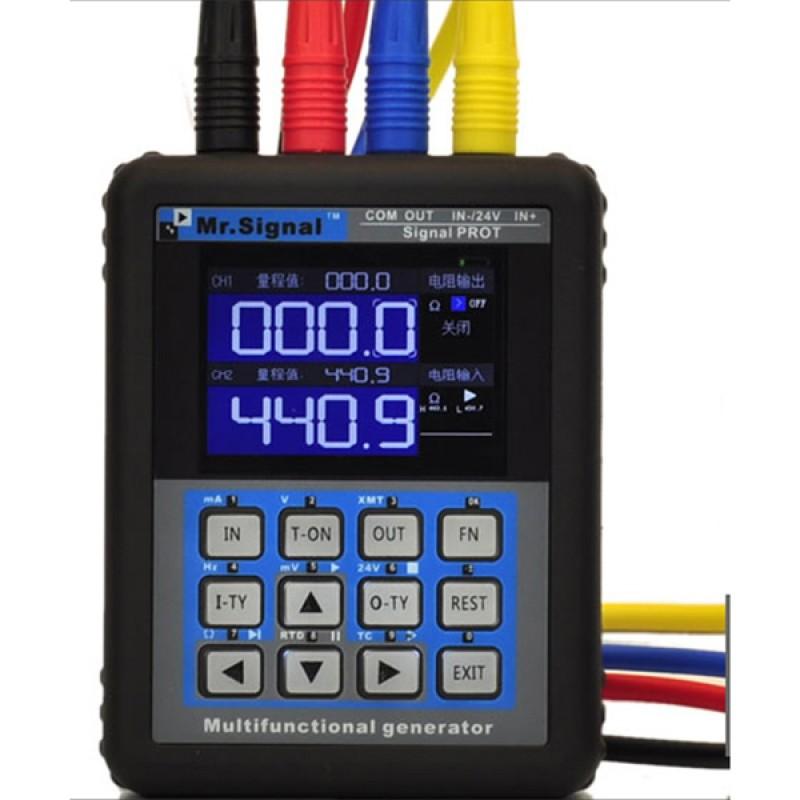 MR2.0TFT-P 4-20mA Signal Generator Calibration Current Voltage Signal Pressure Transmitter USB Port