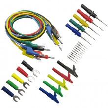 P1036B 4mm Banana to Banana Plug Test Lead Kit for Multimeter Cable Match the Alligator Clip Test Probe U Insert Type