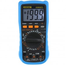 ANENG AN8207L Digital Multimeter 2000 Counts AC/DC Current Voltage Resistace Frequency Capacitance Tester Diode & Sound ON/OFF Test