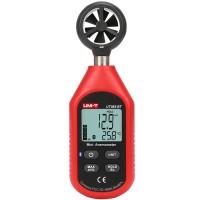UNI-T UT363BT Bluetooth Mini Wind Speed Meter Digital Pocket Size Anemometer Measurement Thermometer Wind Meter
