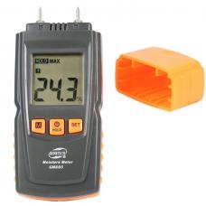 GM605 Digital LCD Display Wood Moisture Meter Humidity Tester Timber Damp Detector Portable Wood Moisture Meter