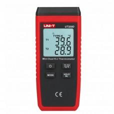 UNI-T UT320D Mini-contact Thermometer Dual-channel K/J Thermocouple Thermometer Temperature Measurement