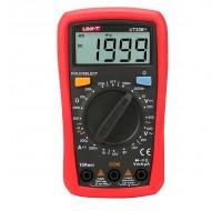 UNI-T UT33B+ Digital Multimeter Current AC DC Voltage Resistance Diode Battety Tester LCD Backlight