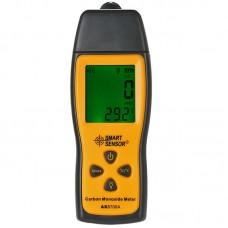 SMARTSENSOR AS8700A Handheld LCD CO Gas Analyzer Carbon Monoxide Tester Gas Detector 0-1000ppm Temperature Tester