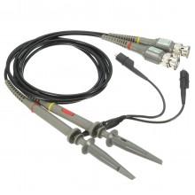 DANIU 2Pcs Oscilloscope Probe BNC Alligator Clip Ground Lead Test Tool 20MHz 1X 10X